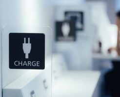 空港 充電スペース